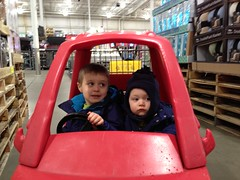 Driving in BJs