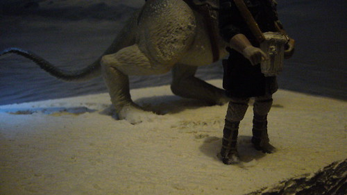 """Footprints in the snow were made in a similar way as in the Battle of Hoth diorama • <a style=""""font-size:0.8em;"""" href=""""http://www.flickr.com/photos/86825788@N06/8489070185/"""" target=""""_blank"""">View on Flickr</a>"""