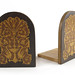 150. Inlaid Edwardian Bookends