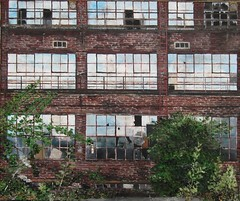 The Car Factory (max baris) Tags: windows plant max reflection building art window glass facade buildings germany painting deutschland industrial factory decay fabrik paintings canvas ramen oil oud oilpainting raam fabriek abandonned duitsland baris wartburg eisenach gevel gebouwen verlaten automobilfabrik sharingart maxbaris automobielfabriek