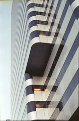 (Robert Hildebrand) Tags: building tower film oregon 35mm portland nikon downtown offices fa keybank pacwestcenter