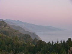 Big Sur at dusk (syfractal) Tags: california trees water coast pacific bigsur cliffs