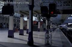 M999-00751 (railphotolibrary.com) Tags: railroad red station scotland europe european britain platform large scottish railway aberdeen british signal aspect uk1