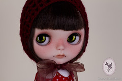 *Adopted* (-Poison Girl-) Tags: red eye girl hat mouth nose eyes doll dolls eyelashes chocolate carving tommy sleepy blythe freckles poison custom cocoa simply gaze takara licca poisongirl customs correction blythes eyechips simplychocolate philtrum blythecustom boggled rechipped