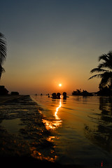 Dusk (CrishyM) Tags: beach pool swim evening nikon dusk infinity resort chilling srilanka northwestern makara dolphinbeach kalpitiya wayamba alankuda d3100 කල්පිටිය නොරච්චෝලේ norachchole