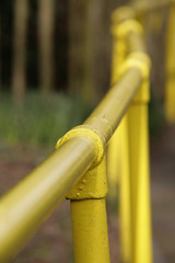 YELLOW TUBE (Adam Swaine) Tags: county uk england english beautiful yellow canon photography sussex iron britain parks rails counties swaine 2013 thisphotorocks thebestyellow adamswaine mostbeautifulpicturesmbppictures wwwadamswainecouk