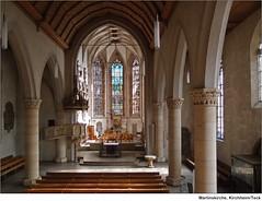 Martinskirche Kirchheim/Teck (to.wi) Tags: licht kunst glasmalerei schatten glas teck martinskirche kirchheim kirchheimteck kirch glasfenster altarraum towi