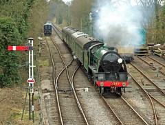 N15 no.30777 'Sir Lamiel' (alts1985) Tags: four great railway steam marks sir gala mid n15 hants medstead lamiel 030313 no30777