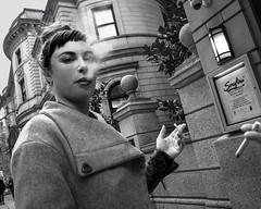Philadelphia, 2013 (Alan Barr) Tags: street city people urban blackandwhite bw philadelphia monochrome mono blackwhite candid 28mm streetphotography sp streetphoto ricoh a12 18mm gxr 2013