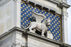 Golden Stars and a Winged Lion (Jocey K) Tags: venice italy sculpture tower architecture stars worldheritagesite piazzasanmarco wingedlion cosmostour6330