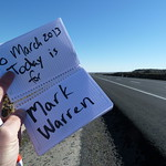 "Today is for Mark Warren <a style=""margin-left:10px; font-size:0.8em;"" href=""http://www.flickr.com/photos/59134591@N00/8534897790/"" target=""_blank"">@flickr</a>"