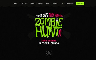 Zombie Hunt Website