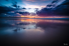 Evocation (Pablo GSAL) Tags: sunset clouds long exposure cloudy playa cantabria exposicion reflejos larga partly liencres valdearenas 500px