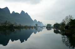 The Southern China Countryside (skylin3gtr013) Tags: china mountain river landscape scenery guilin yangshuo karst guanxi