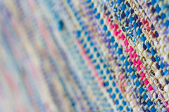 10/52 What is it? (melbaczuk) Tags: pink blue colors canon bc okanagan rug week10 kelowna weave 52 2013 project52 canon7d 52weeksthe2013edition 522013