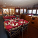 The dining area on board the MV Sun Dancer II