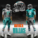 dolphins MIKE WALLACE 12