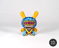 "3"" CycloOoOops (WuzOne) Tags: diy comic handmade cyclops kidrobot xmen custom marvel dunny munny wuzone"