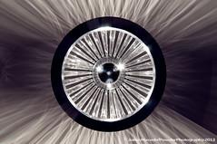 The Eye - Chandeliers 2013 DSC_4704 (PowderPhotography) Tags: eye reflections crystal wideangle fisheye chandelier refraction halogen 8mm samyang