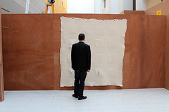 Wall_piece-Michael (Hope Ginsburg) Tags: wool felt doha vcuq tasmeem