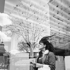 Hair (unoforever) Tags: barcelona street people woman monochrome hair photography calle mujer gente bcn streetphotography streetphoto pelo fotografa spmonochrome unoforever