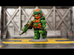 Halo 4 Warrior (Geoshift) Tags: lego 4 halo spartan halo4 customminifig legohalo legocustomminifig brickaffliction