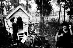 laugh (thomtomo) Tags: leica boy blackandwhite bali kids indonesia diy kodak box trix 400 laugh denpasar leicam2 caffenol summaron35mmf28 analoguephotography