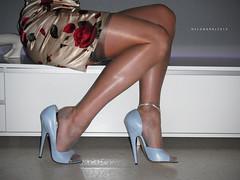 R0013066 (nylongrrl) Tags: blue 6 feet stockings shiny toes pumps highheels arch shine legs style skirt glossy upskirt heels gloss heel satin stiletto ph ankle dangle nylon toenails p2 anklet ffs nylons cervin garment garterbelt fashioned longnails suspender collant 6inch rht 2013 ffn eliteheels rhts archsatin
