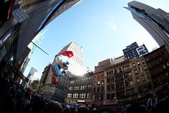 papa smurf (Overall Murals) Tags: thanksgiving nyc newyork sign hotel mural paint parade handpainted oil macys refinery signpainter overallmurals
