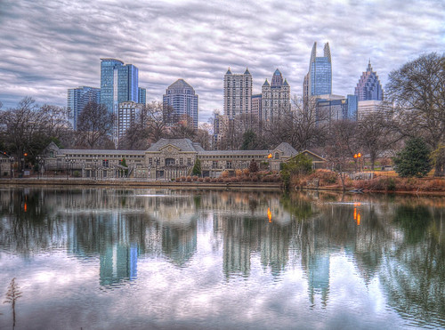 Atlanta Skyline - enilykS atnaltA by joiseyshowaa, on Flickr