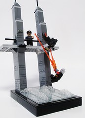 Batman vs. Hush (Julius No) Tags: bridge lego falls gordon batman vs hush
