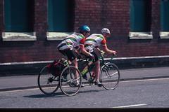 John Dalton and John Bayley on their Tandem Trike. (DP the snapper) Tags: johndalton people trike audax tandem randonnee george longstaff kidderminster windsorchesterwindsor