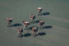 Red sands forts (stocks photography.) Tags: whitstable redsands maunsellforts michaelmarsh coast thamesestuary photography photographer redsandsforts aerial