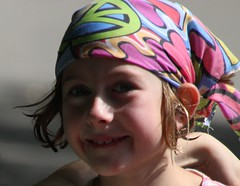 last day of camp (M.J.H. photography) Tags: kid girl camp c3kc summer channel3kidscamp andoverct coventryct lucy bandana