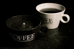 morning coffee (rich lewis) Tags: mono monochrome coffee fineart richlewis