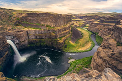 Fluent Falls (West Leigh) Tags: palouse waterfall wanderlust wander washington pacificnorthwest peaceful explore experience dream discover travel travelphotography tranquil river stream flow beginning inspire morning hike sunrise grow canyon valley canoneos6d