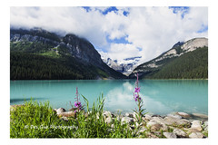 Lake Louise, Banff National Park (PhotoDG) Tags: lakelouise banffnationalpark nationalpark banff lake icefieldparkway canadianrockies rockymountains glacier glacierfed colour wideangle polarizer fairviewmountain landscape