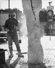 (Gabriel Ghiggeri) Tags: mamiya rb67 pro s sekor 127mm f38 kodak trix 400 black white ishootfilm keepfilmalive filmwasters bwfilm scultor escultura work escultor