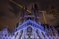 Sagrada Familia (iosif.michael) Tags: sony a7 sagrada familia barcelona church architecture night photography long exposure travel europe