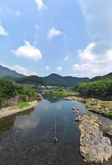 Luxurious fishing (tyodai) Tags:    sony 7 a7 ilce7 super wideheliar 15mm f45 aspherical iii japan   gifu     summer