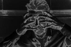 This Stress is Killing Me (sophie_merlo) Tags: bw mono monochrome noir blackandwhite bn blancoynegro dark stress depression mentalhealth work life model male malemodel art health business businessman office pressure coping overwhelmed ill busy models portrait