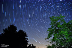 Startrail (E.M.Lpez) Tags: 2016 verano agosto alcallareal jan andaluca sierrasurdejan reservastarlight estrellas stars cielo sky startrail circumpolar nocturna noche estrellapolar