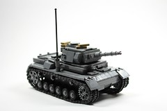 Lego WWII Panzer III Tank (LegoEpicMan) Tags: lego ww2 wwii tank bricks