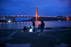 Family hobby (gcquinn) Tags: geoff geoffrey quinn 1gq5505 family fishing fishermen goldengate bridge sanfrancisco bay crissyfield