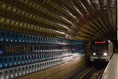 DSC_0425 (MegaFlohn) Tags: train underground art street lights station prag praha prague ubahn
