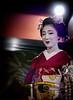 The Amused Mamefuji (Rekishi no Tabi) Tags: mamefuji maiko apprenticegeiko gionkobu gion japan kyoto leica