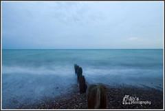 Looking down the Groynes out to Sea (Sb's Photography) Tags: worthing worthingbeach nikond7000 nikon nikon1755f28 slowshutterspeed slowshutter seascape sea beach groynes water