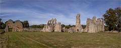 Bayham Abbey-Pano (mini-b) Tags: bayhamabbey ruins englishheritage 13th15thcentury frant eastsussex canon eos5dmkii ef28300mm3556lisusm 2016