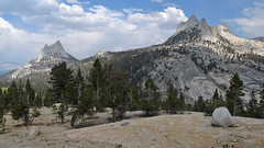 Cathedral and Echo Peaks (Mike Dole) Tags: johnmuirtrail yosemitenationalpark california sierranevada cathedralpeak echopeaks