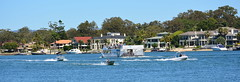 panDSC_0132 (LoxPix2) Tags: loxpix queensland southport surfersparadise beach river boat architecture building bridge australia 2016